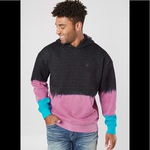 NWT Neff Men's Size Small O.D Color-Block Hoodie